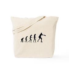 Evolution frisbee Tote Bag