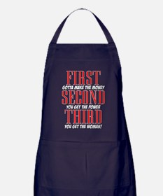 First The Money, Second Power, Third Woman Apron (