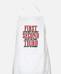 First The Money, Second Power, Third Woman Apron