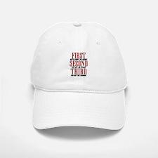 First The Money, Second Power, Third Woman Baseball Baseball Cap