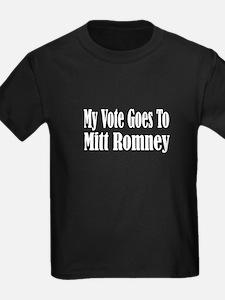 Unique Vote no on romney T