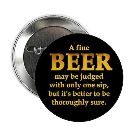 """Czech Beer Proverb 2.25"""" Button"""