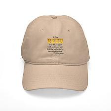 Czech Beer Proverb Baseball Cap