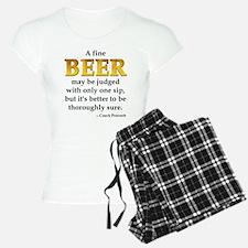 Czech Beer Proverb Pajamas