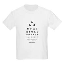Welsh Eye Test T-Shirt