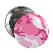 """Pink Camouflage Pattern 2.25"""" Button"""