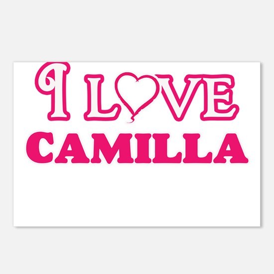I Love Camilla Postcards (Package of 8)