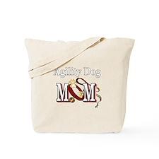Agility Dog Mom Tote Bag