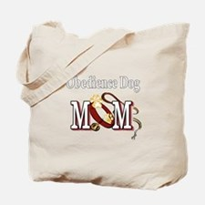Obedience Dog Mom Tote Bag