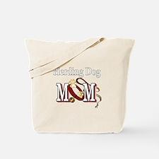 Herding Dog Mom Tote Bag