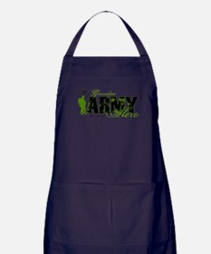 Grandpa Hero3 - ARMY Apron (dark)