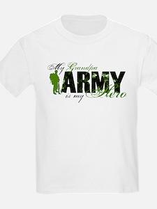 Grandpa Hero3 - ARMY T-Shirt