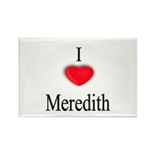 Meredith Rectangle Magnet