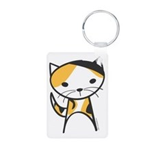 Calico Cat Keychains