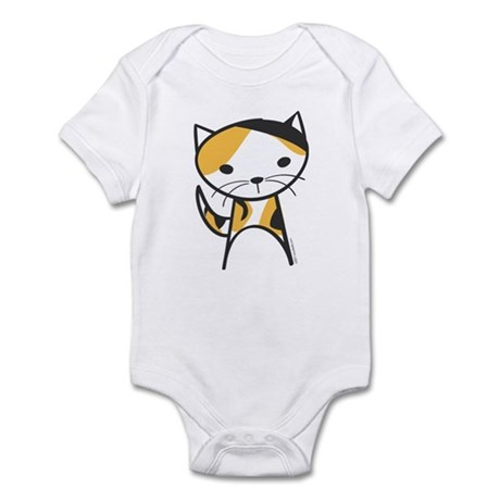 Calico Cat Infant Bodysuit