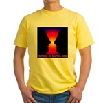 VASE2FACE Yellow T-Shirt