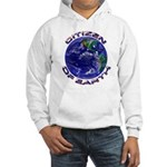 Citizen Of Earth.... Hooded Sweatshirt