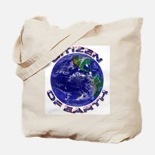 Citizen Of Earth.... Tote Bag