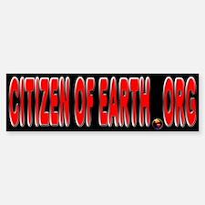 Citizen Of Earth.... Bumper Bumper Sticker