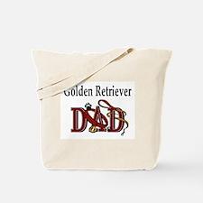Golden Retriever Dad Tote Bag