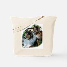 Rough Sable Collies Tote Bag