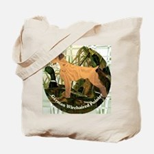 Cute German wirehaired pointer Tote Bag