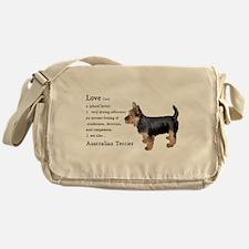 Australian Terrier Gifts Messenger Bag