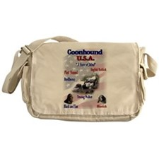 Coonhound USA Messenger Bag