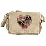 Cavalier Puppy Love Messenger Bag