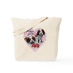 Cavalier Puppy Love Tote Bag