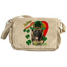 St Pats German Shepherd Messenger Bag