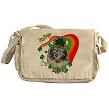 Today I'm Irish Keeshond Messenger Bag