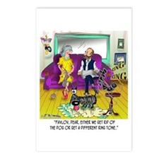 Pavlov's Ring Tone Postcards (Package of 8)
