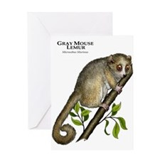 Gray Mouse Lemur Greeting Card