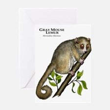 Gray Mouse Lemur Greeting Card