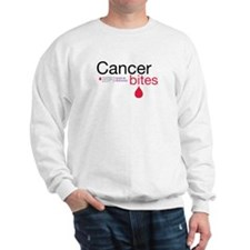 Cancer bites Sweatshirt