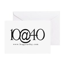 10@40 Greeting Card