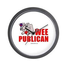 Wee publican -  Wall Clock