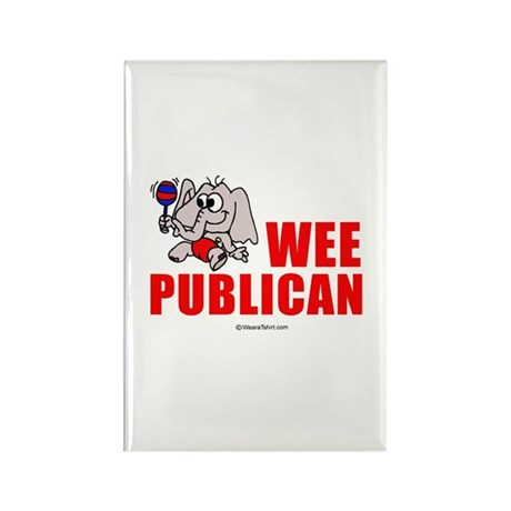 Wee publican - Rectangle Magnet