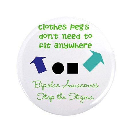 """Pegs 3.5"""" Button (100 pack)"""