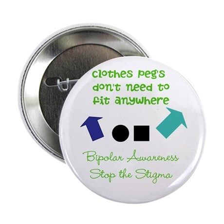"""Pegs 2.25"""" Button (10 pack)"""