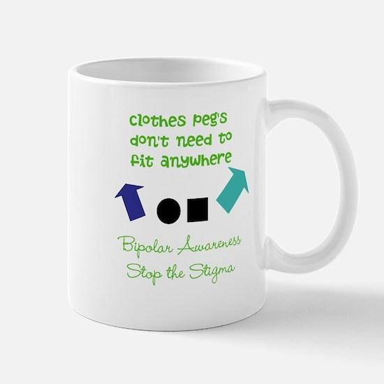 Pegs Mug