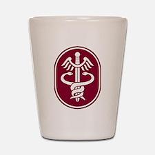 Caduceus Shot Glass
