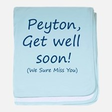 Peyton,get well soon! baby blanket