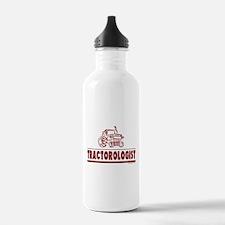 Humorous Tractor Water Bottle