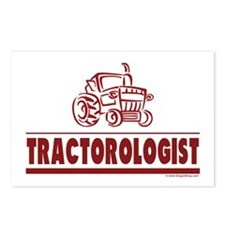Humorous Tractor Postcards (Package of 8)