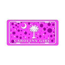 Carolina Girl Aluminum License Plate
