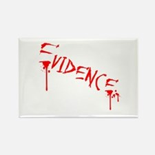 Dripping with Evidence Rectangle Magnet