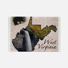 Cute West virginia Rectangle Magnet