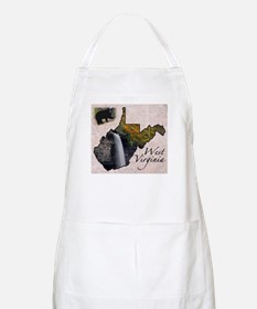Cute Beckley west virginia state flag Apron